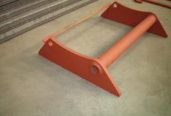 Weld On Brackets - Manitou Frame