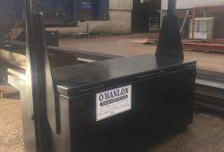 O' Hanlon Engineering Forestry Tool Box with Lifting Arm