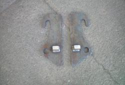 Weld On Brackets - JCB Compact