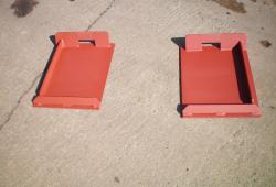 Weld On Brackets - Bobcat Skidsteer