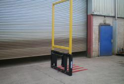 O' Hanlon Engineering Telehandler Bale Spike with Frame