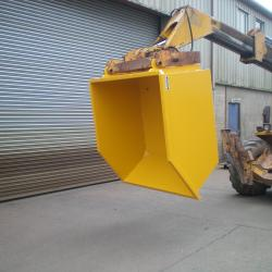 Telehandler Direct Mounted Skips